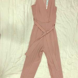 Pink Jumpsuit Romper BNWT